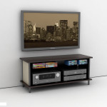 Wall Mounted Entertainment Shelves