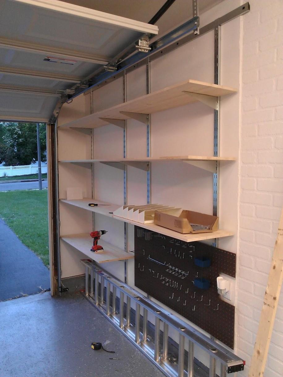 Wall Mounted Garage Shelving Decor Ideasdecor Ideas