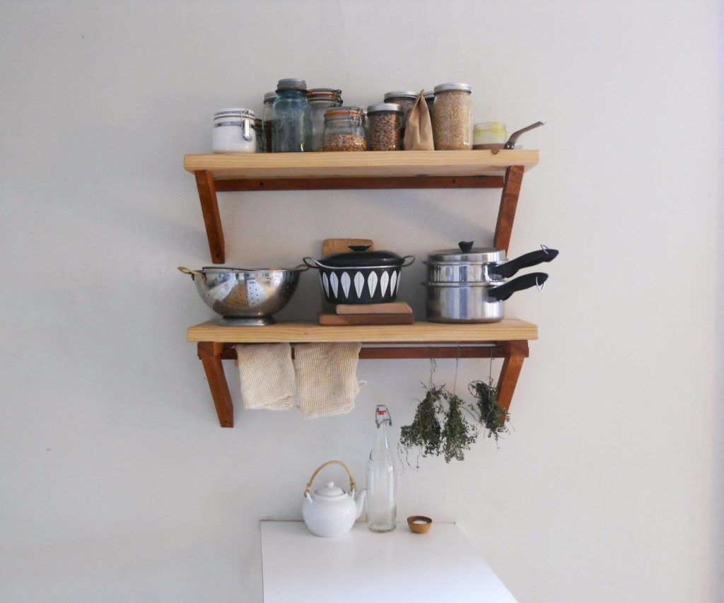 Wood Wall Shelving Systems