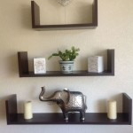 Wooden Wall Mounted Shelves