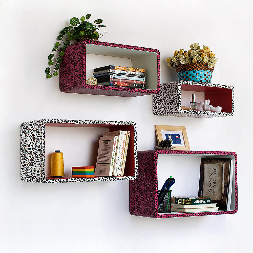 Decorative Metal Wall Shelves