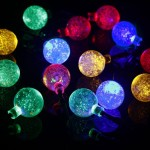 Solar Powered Outdoor Christmas Lights