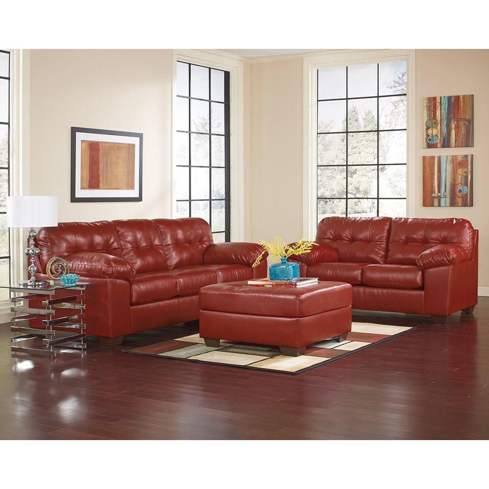 Ashley Furniture Leather Living Room Sets