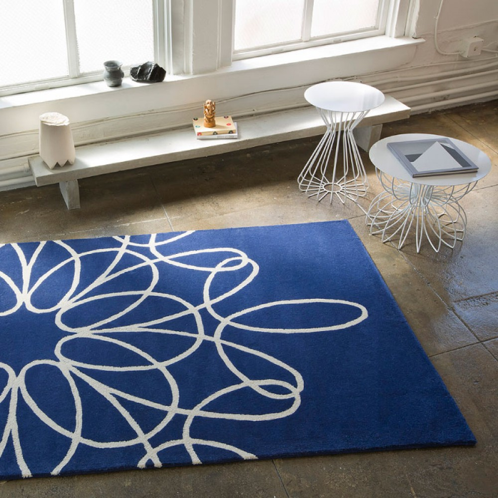 Blue And White Area Rugs Decor Ideasdecor Ideas