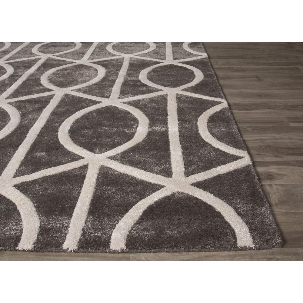 Gray And White Area Rug