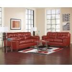 Red Living Room Furniture Sets