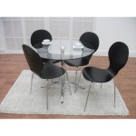 Black Dining Chairs Set Of 4