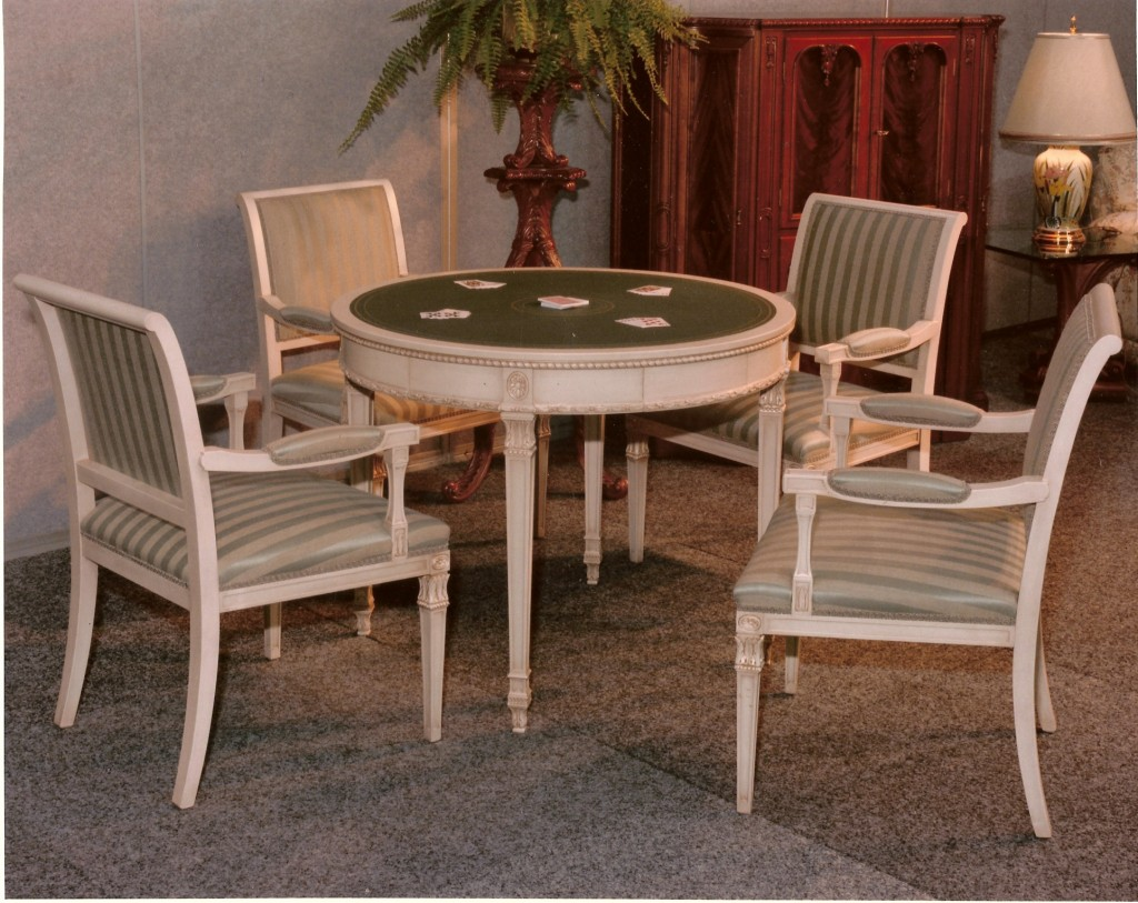 Card Table And Chairs Set
