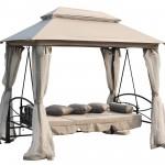 Gazebo Swing Bed