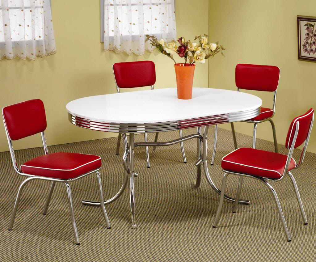 red kitchen table and chairs set decor ideasdecor ideas. Black Bedroom Furniture Sets. Home Design Ideas