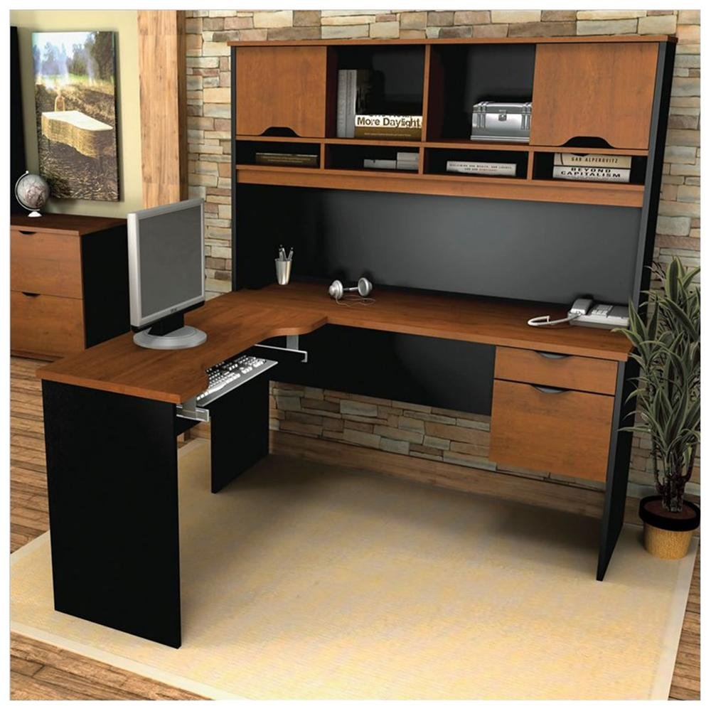 Computer Table With Hutch