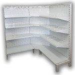 Corner Wire Shelving