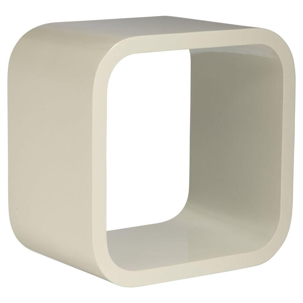Floating Box Shelves