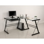 Metal Computer Table