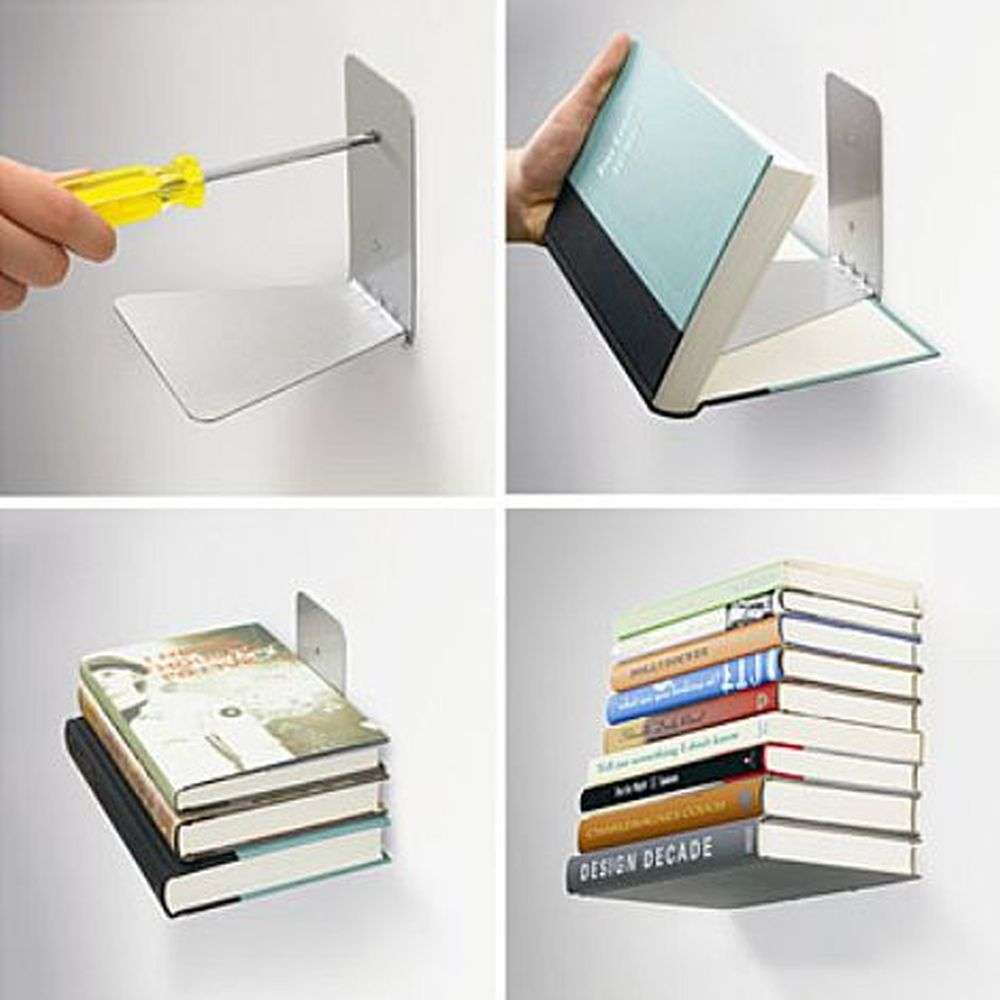 Stainless Steel Floating Shelves