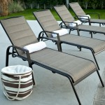 Aluminum Chaise Lounge Pool Chairs