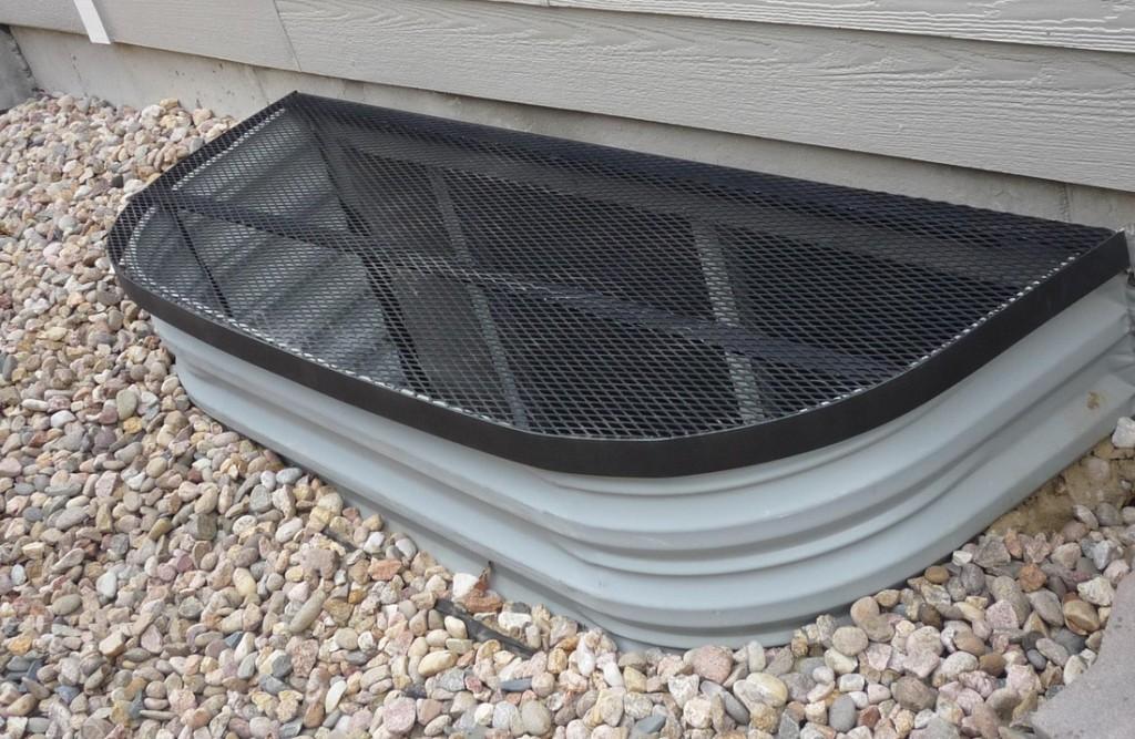 HomeMade Window Well Covers