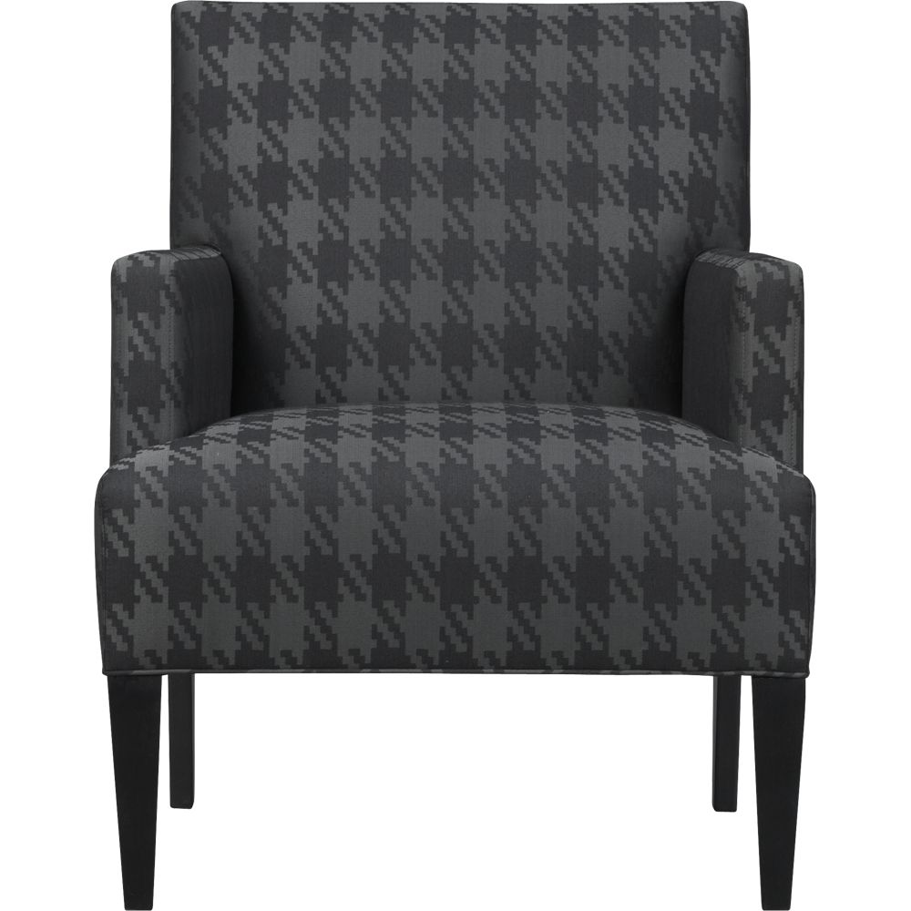 Houndstooth Accent Chair