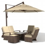 Patio Furniture Sets With Umbrella