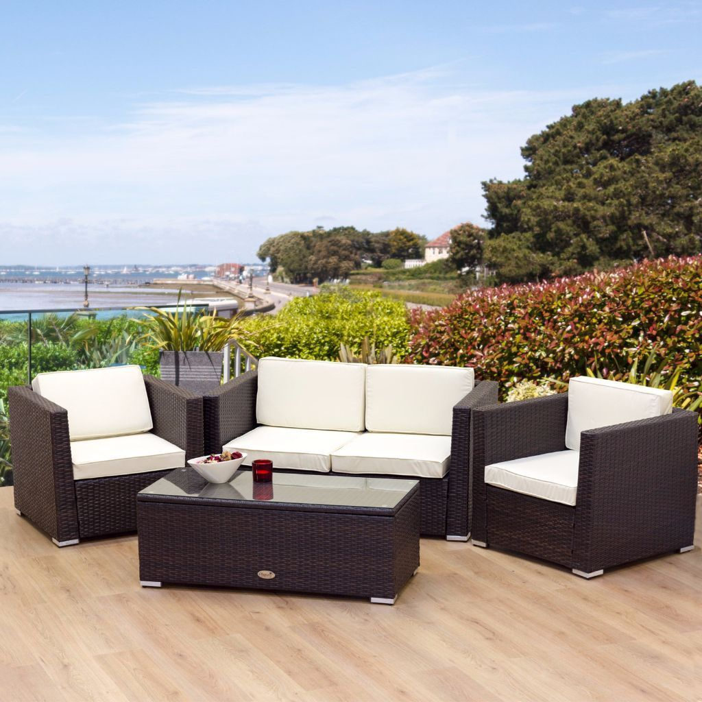 Rattan Patio Furniture Set