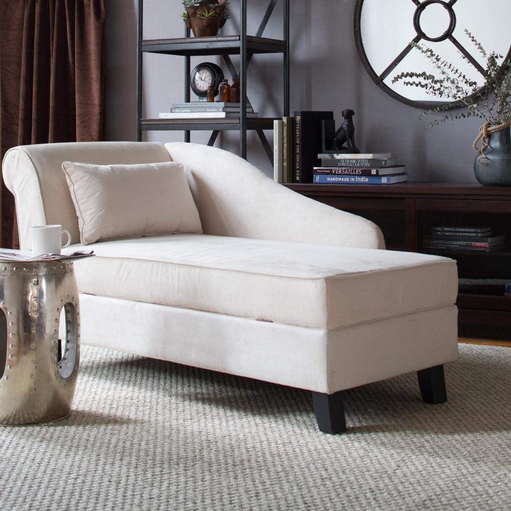 Storage Chaise Lounge Chair