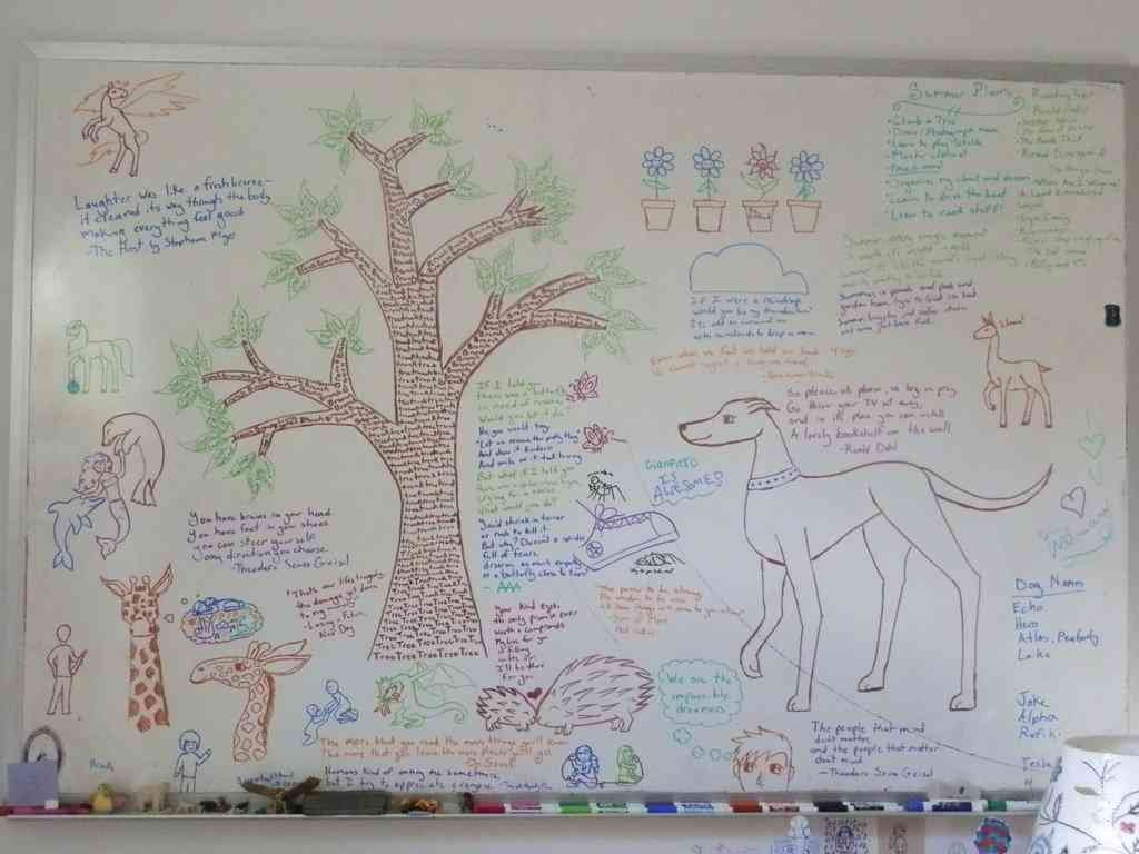 Dry Erase Wall Covering