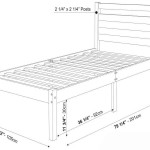 Twin Size Mattress Measurements