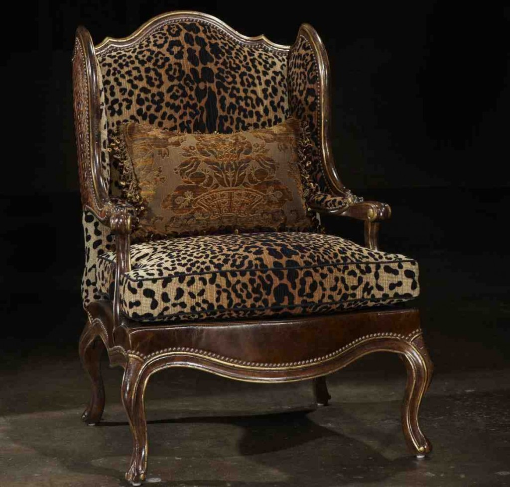 Animal Print Chairs Living Room