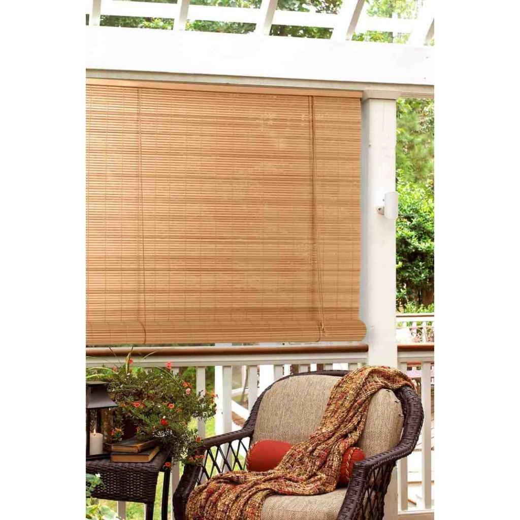 Bamboo Porch Blinds