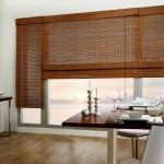Bamboo Roman Blinds