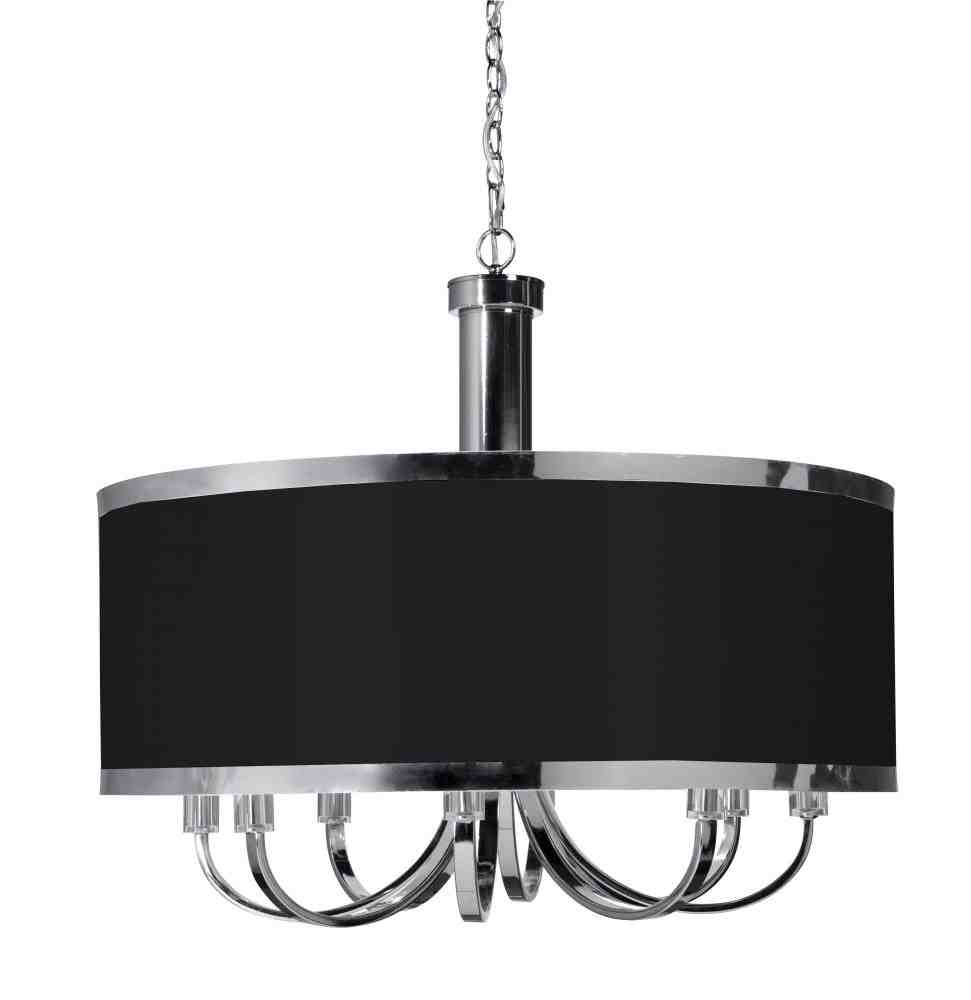 Black Chandelier Lamp Shades