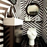Black and White Bathroom Wall Decor