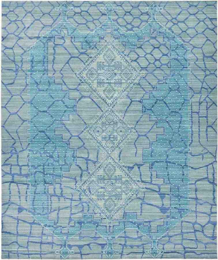 Blue Area Rugs 8 x 10