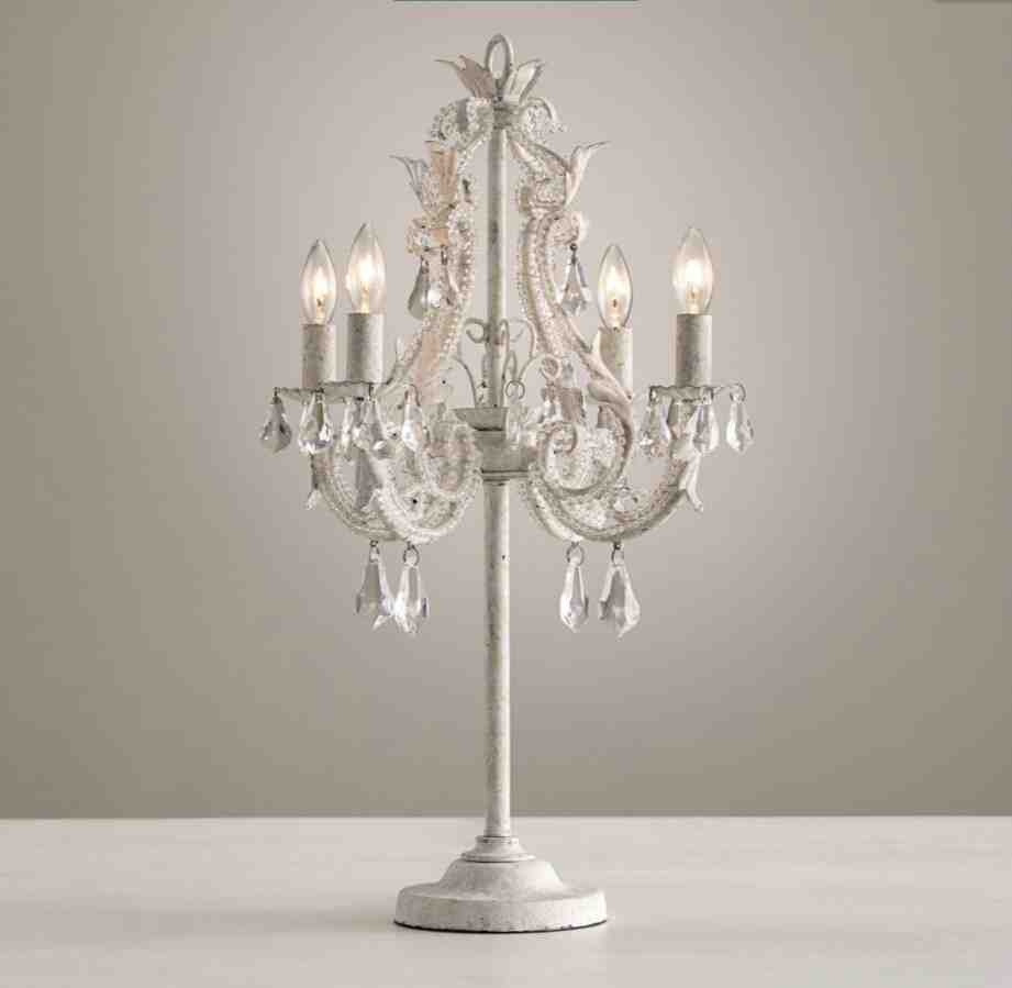 Chandelier Bedside Lamps