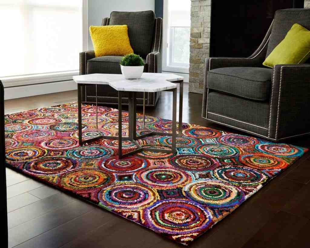 Colorful Rugs for Living Room