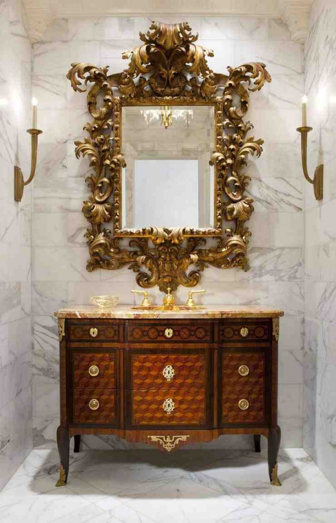 Decorative Bathroom Wall Mirrors