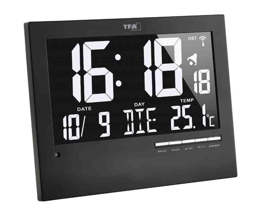 Digital Wall Clock with Backlight