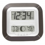 Digital Wall Clock with Temperature