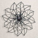 Flower Metal Wall Art Decor