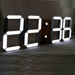 Huge Digital Wall Clock