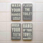 Kids Bathroom Wall Decor