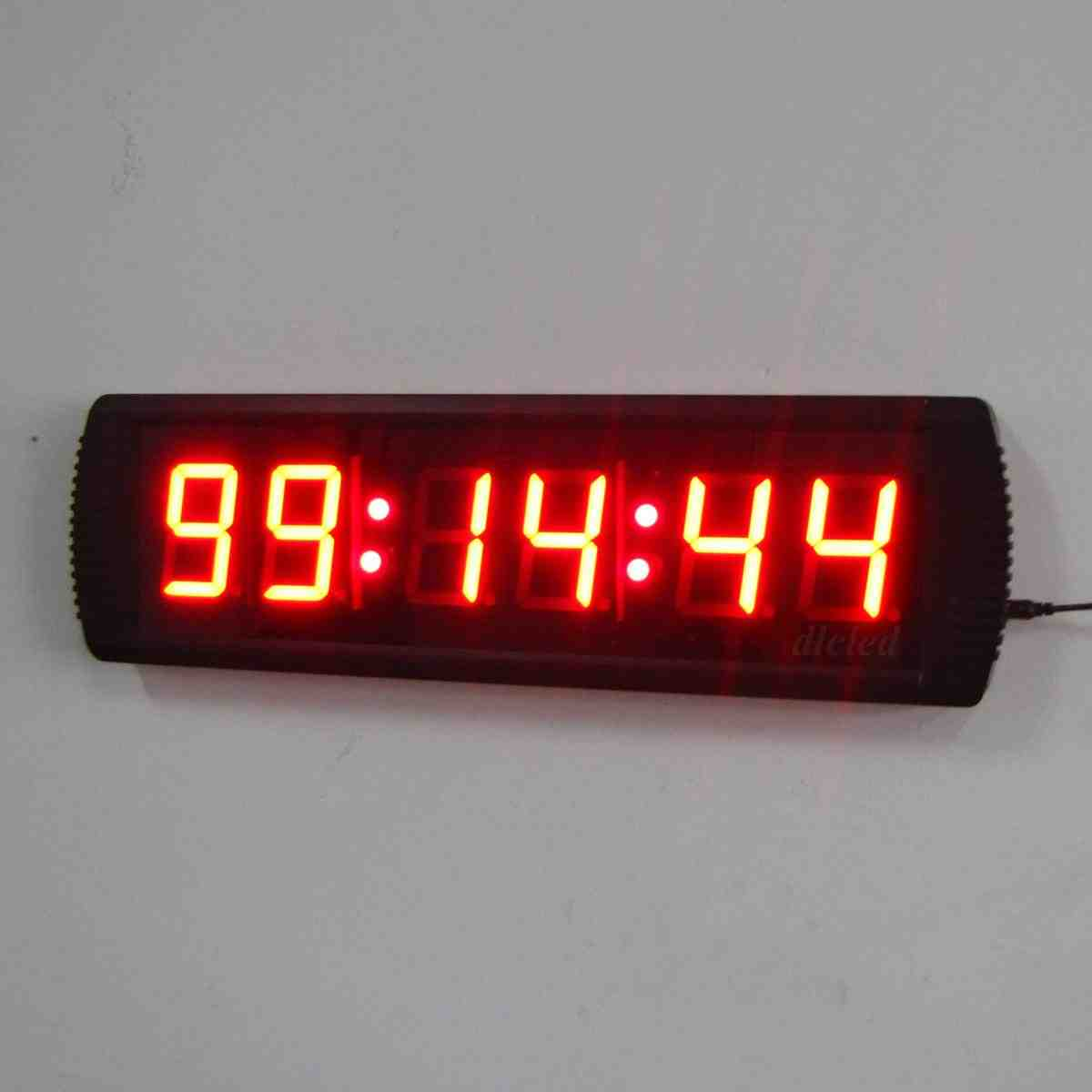 Large Digital Wall Clock With Seconds Decor Ideasdecor Ideas