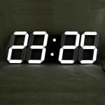 Large Led Digital Wall Clock