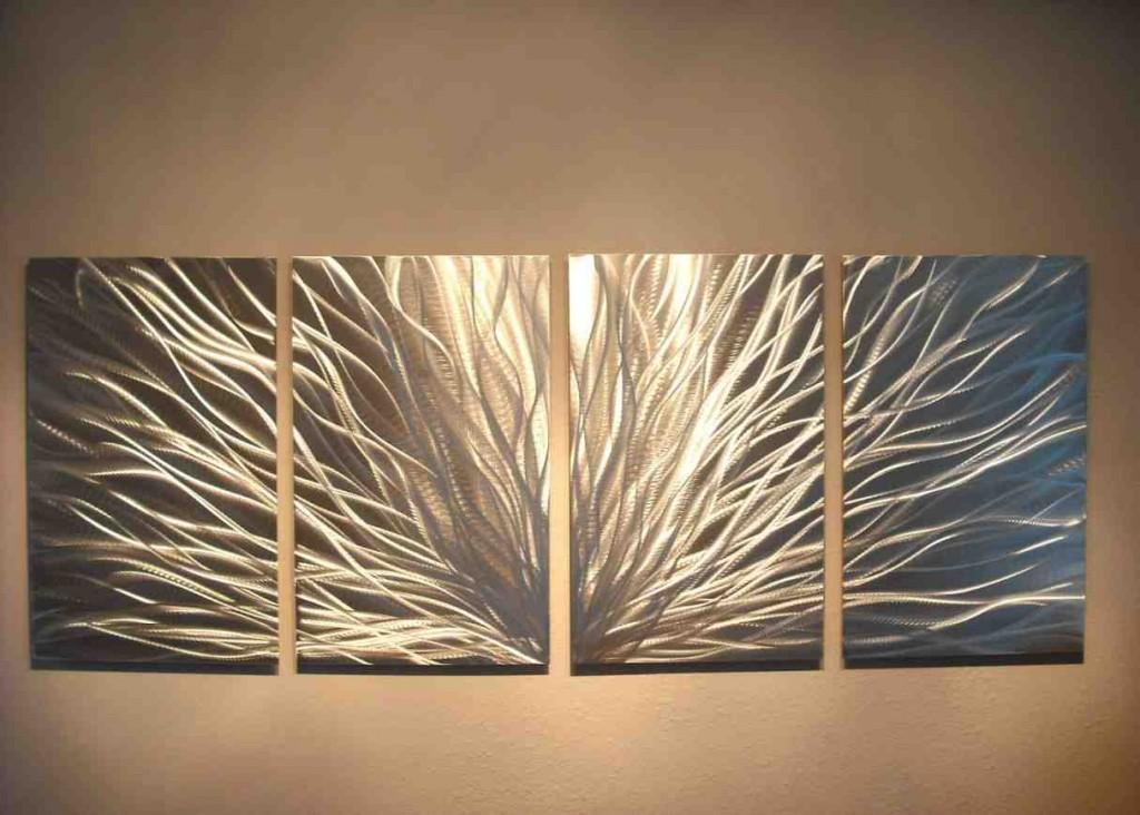 Modern Metal Wall Art Decor
