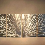 Modern Metal Wall Art Decor