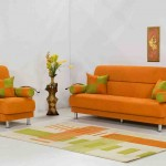 Orange Living Room Chairs
