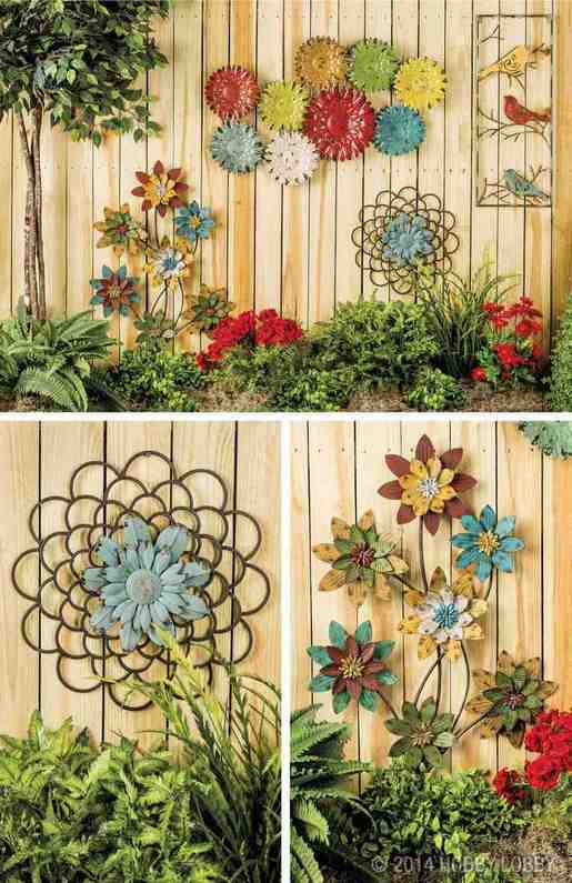 Outdoor Garden Wall Decor
