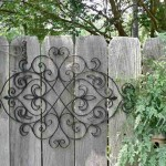 Outdoor Wrought Iron Wall Decor