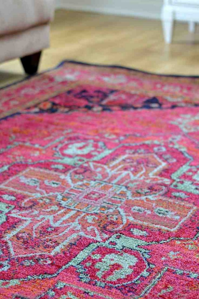 Pink Area Rug 8x10