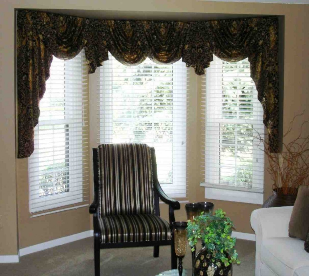 Swag Curtains for Living Room